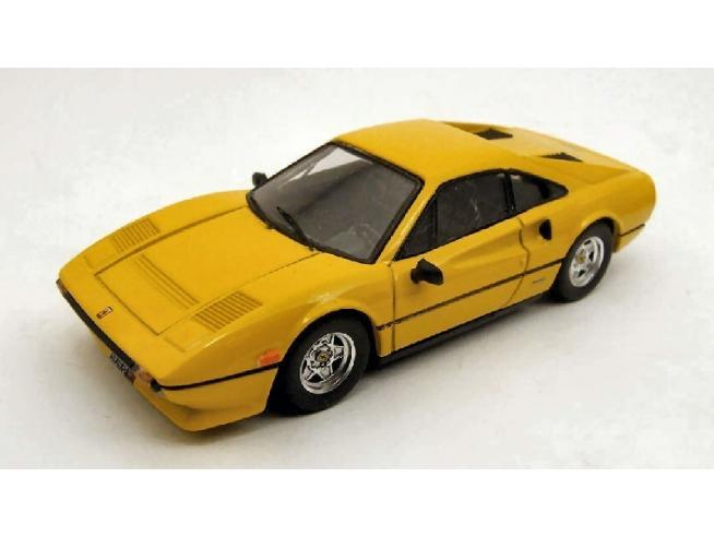Best Model BT9248 FERRARI 308 GTB QV 1982 YELLOW 1:43 Modellino