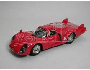 Best Model BT9251 ALFA ROMEO 33.2 CODA LUNGA 1968 RED 1:43 Modellino