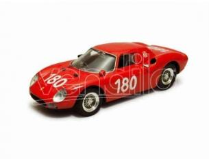 Best Model BT9256 FERRARI 250 LM N.180 16th TARGA FLORIO 1966 RAVETTO-STARRABBA 1:43 Modellino