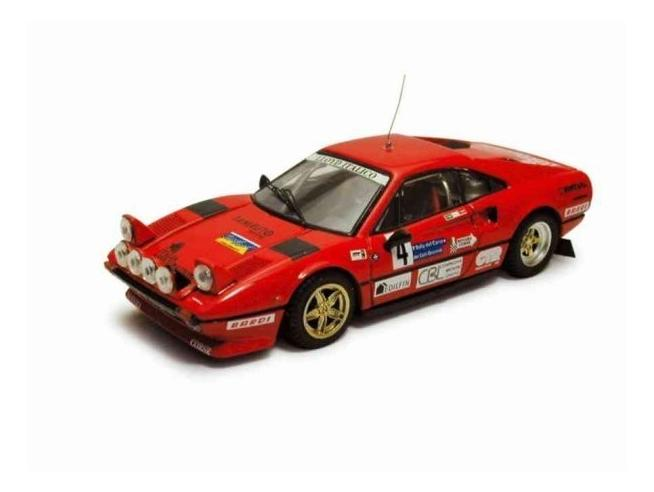 Best Model BT9263 FERRARI 308 GTB N.4 RALLY CARSO 1983 CUCCIRELLI-MUTTINI 1:43 Modellino