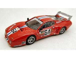 Best Model BT9278 FERRARI 512 BB N.64 50th (ACCIDENT) LM 1979 DELAUNAY-GRANDET-HENN 1:43 Modellino