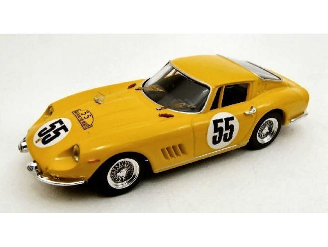 Best Model BT9280 FERRARI 275 GTB N.55 ACCIDENT 84 H NURBURGRING 1966 BIANCHI-DE KEIN 1:43 Modellino