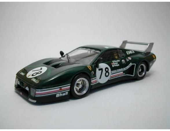 Best Model BT9285 FERRARI 512 BB LM N.78 23th LM 1980 ROURKE-DOWN-PHILLIPS 1:43 Modellino