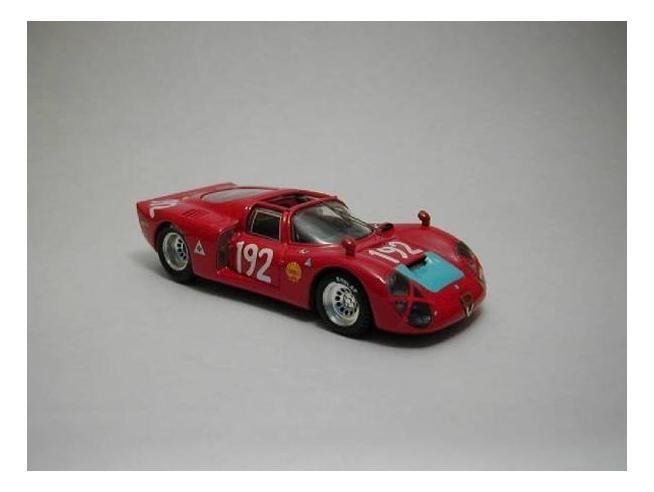 Best Model BT9286 ALFA ROMEO 33.2 SP N.192 2nd TARGA FLORIO 1968 CASONI-BIANCHI 1:43 Modellino