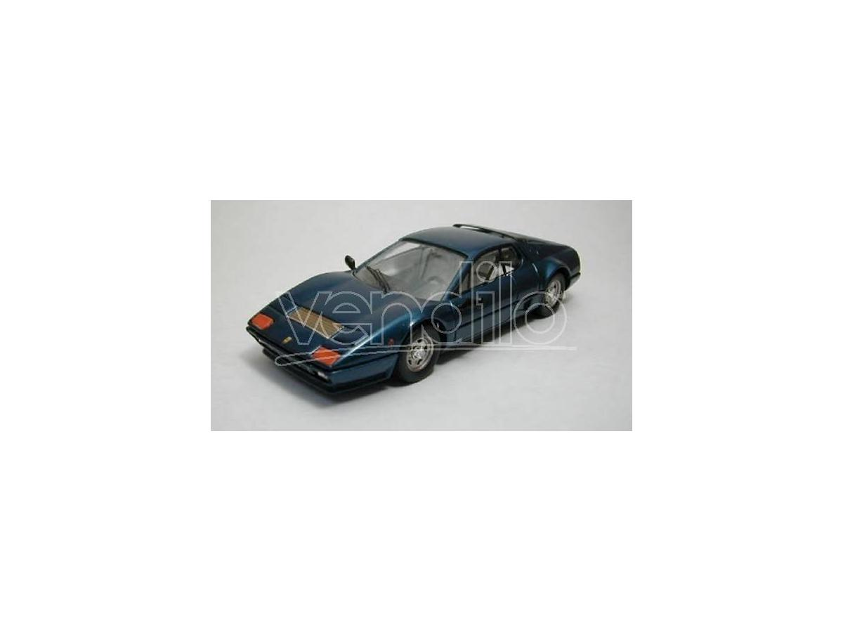 Best Model BT9289 FERRARI 512 BB 1976 GIORGIO ARMANI BLUE 1:43 Modellino
