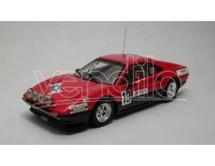 Best Model BT9291 FERRARI 308 GTB N.19 RALLY ST.CERGUE 1982 C.JAQUILLARD 1:43 Modellino