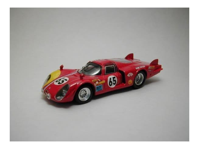 Best Model BT9293 ALFA ROMEO 33/2 COUPE' N.65 ENTRY NOT ACCEPTED LM 1968 D'UDY-DIBLEY 1:43 Modellino