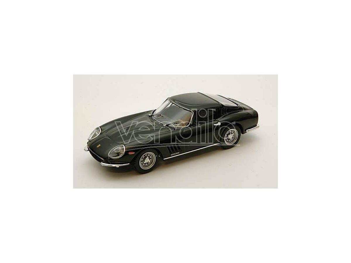 Best Model BT9296 FERRARI 275 GTB 4 1966 BLACK 1:43 Modellino
