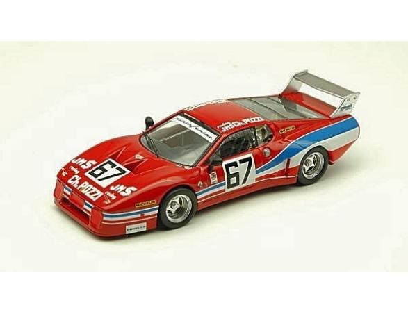 Best Model BT9300 FERRARI 512 BB N.67 54th DAYTONA 1979 BALLOT LENA-LECLERE-ANDRUET 1:43 Modellino