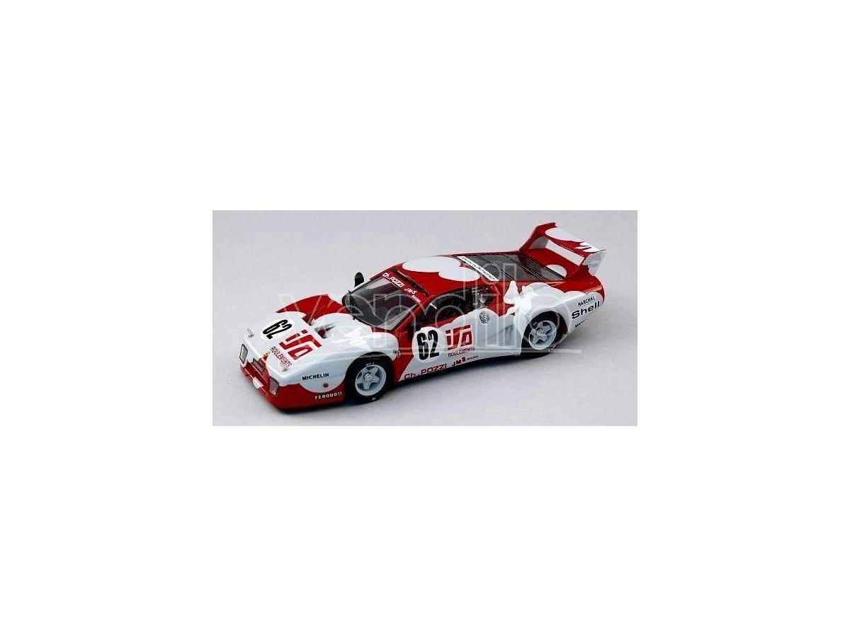 Best Model BT9306 FERRARI 512 BB N.62 26th LM 1979 ANDRUET-DINI 1:43 Modellino