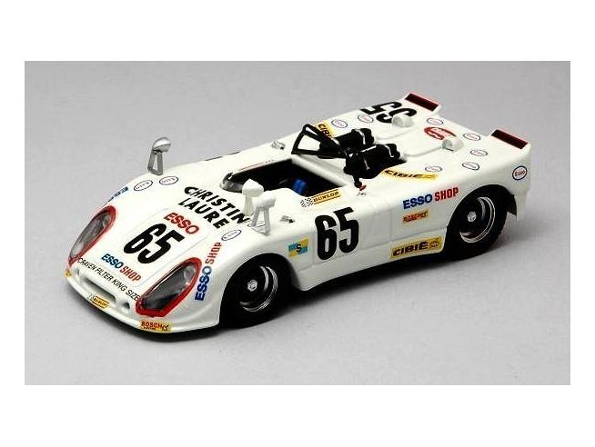 Best Model BT9309 PORSCHE FLUNDER N.65 19th LM 1974 C.POIROT-J.RONDEAU 1:43 Modellino