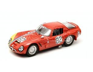 Best Model BT9322 ALFA ROMEO TZ2 N.82 15th 1000 KM NURBURGRING 1967 TROSCH-PILETTE 1:43 Modellino