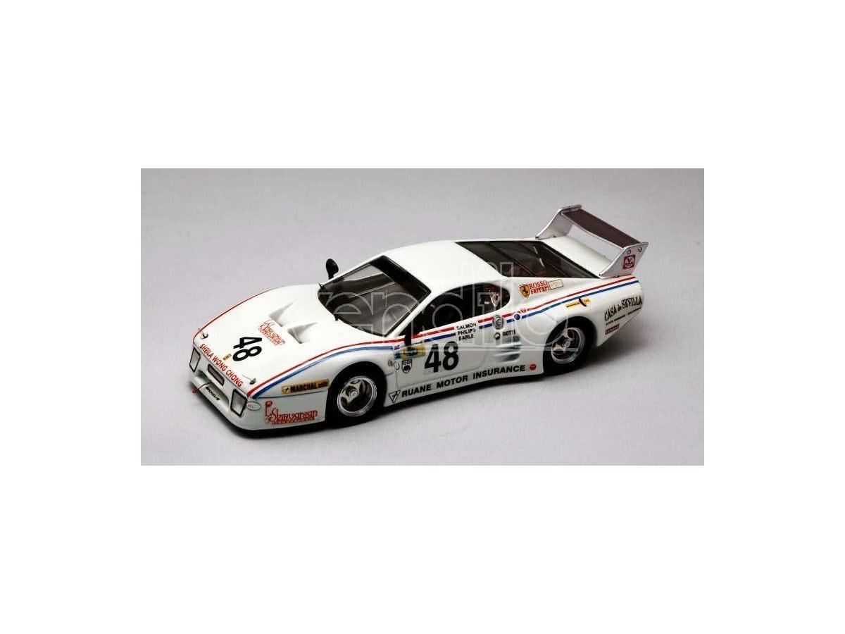 Best Model BT9330 FERRARI 512 BB N.48 DNF LM 1981 PHILLIPS-SALMON-EARLE 1:43 Modellino