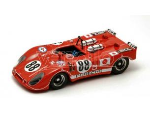 Best Model BT9331 PORSCHE FLUNDER N.88 WINNER 250 Km FUJI 1971 H.KAZATO 1:43 Modellino