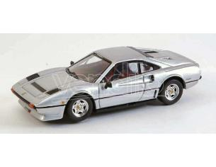 Best Model BT9338 FERRARI 208 GTB TURBO 1982 SILVER 1:43 Modellino