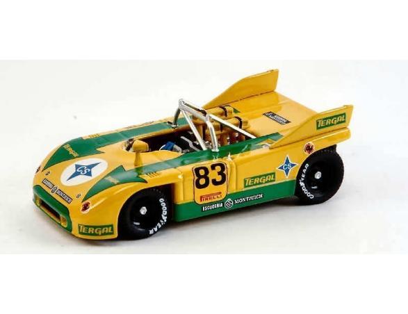 Best Model BT9340 PORSCHE 908/3 N.83 CAMP.EUROPEO DELLA MONTAGNA 1973 J.FERNANDEZ 1:43 Modellino