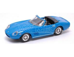 Best Model BT9343 FERRARI 275 GTB SPYDER 1968 STEVE MC QUEEN BLUE 1:43 Modellino