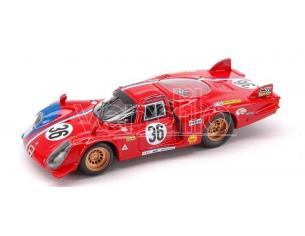 Best Model BT9351 ALFA ROMEO 33.2 N.36 52th LM 1969 PILETTE- SLOTEMAKER 1:43 Modellino