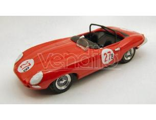 Best Model BT9353 JAGUAR E SPYDER N.27 2nd RIVERSIDE 1961 B.KRAUSE 1:43 Modellino