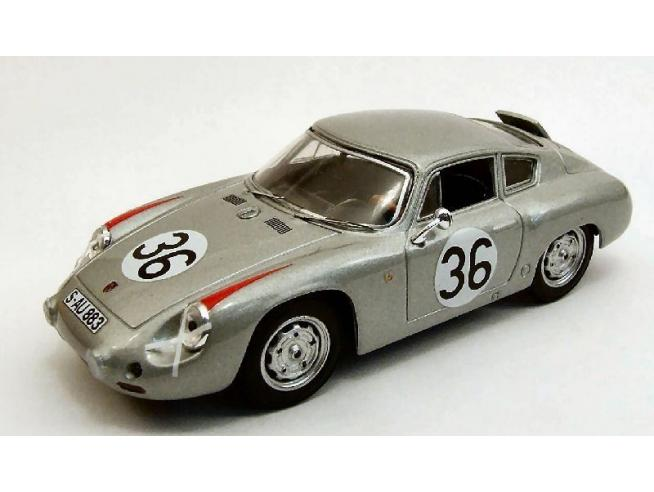 Best Model BT9359 PORSCHE ABARTH N.36 10th LE MANS 1961 H.LINGE-B.PON 1:43 Modellino
