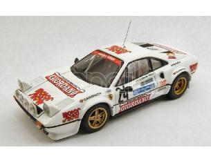 Best Model BT9366 FERRARI 308 GTB N.24 5th RALLY 4 REGIONI 1983 GIORDANO-BOLLA 1:43 Modellino