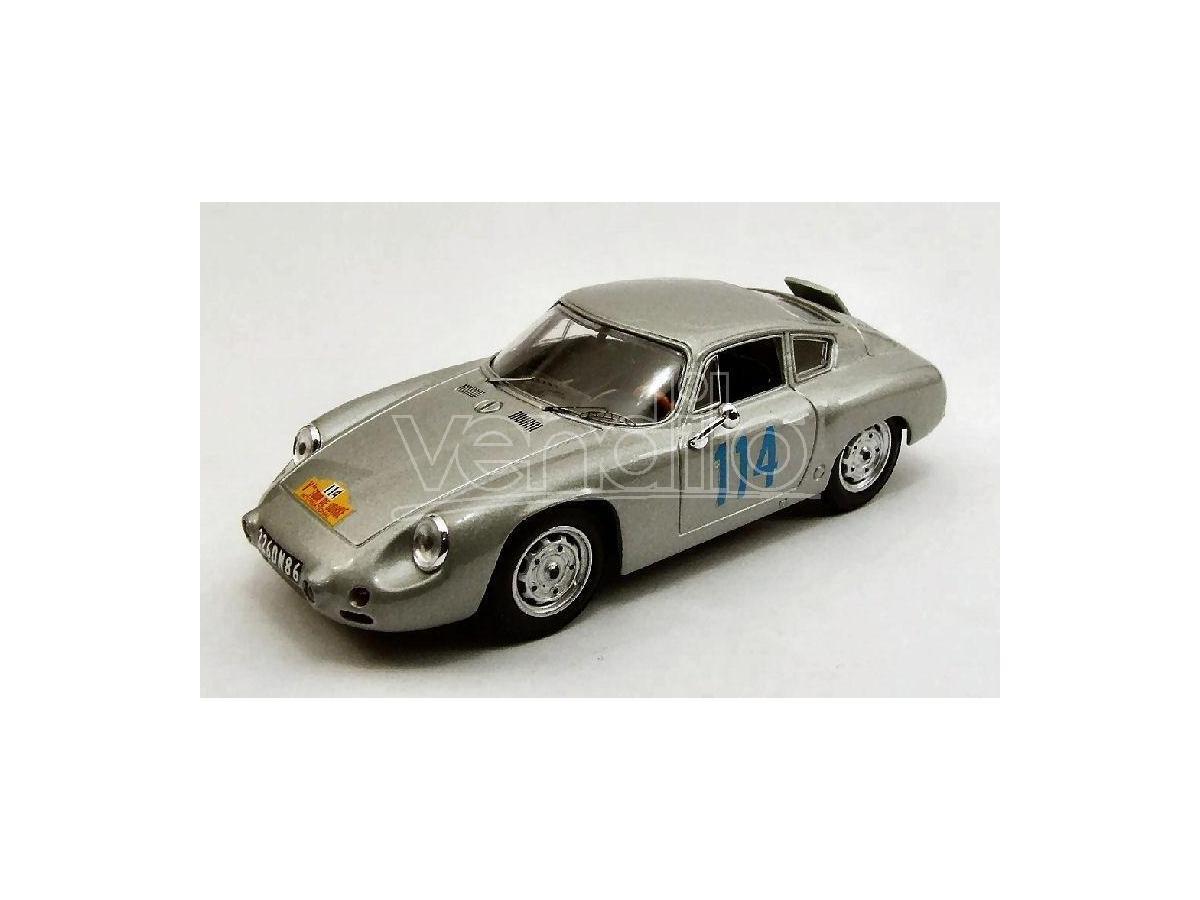 Best Model BT9373 PORSCHE ABARTH N.114 RETIRED TOUR DE CORSE 1960 BOUCHET-MAIRESSE 1:43 Modellino
