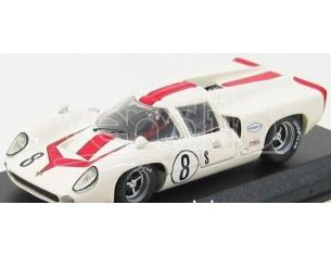 Best Model BT9379 LOLA T 70 COUPE' N.8 RETIRED 12H SEBRING 1968 MOTSCHENBACHER-LESLIE 1:43 Modellino