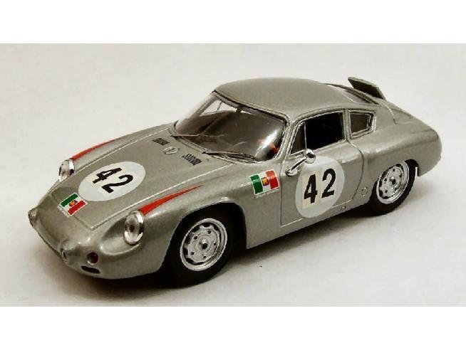 Best Model BT9384 PORSCHE ABARTH N.42 6th TARGA FLORIO 1962 H.HERRMANN-H.LINGE 1:43 Modellino