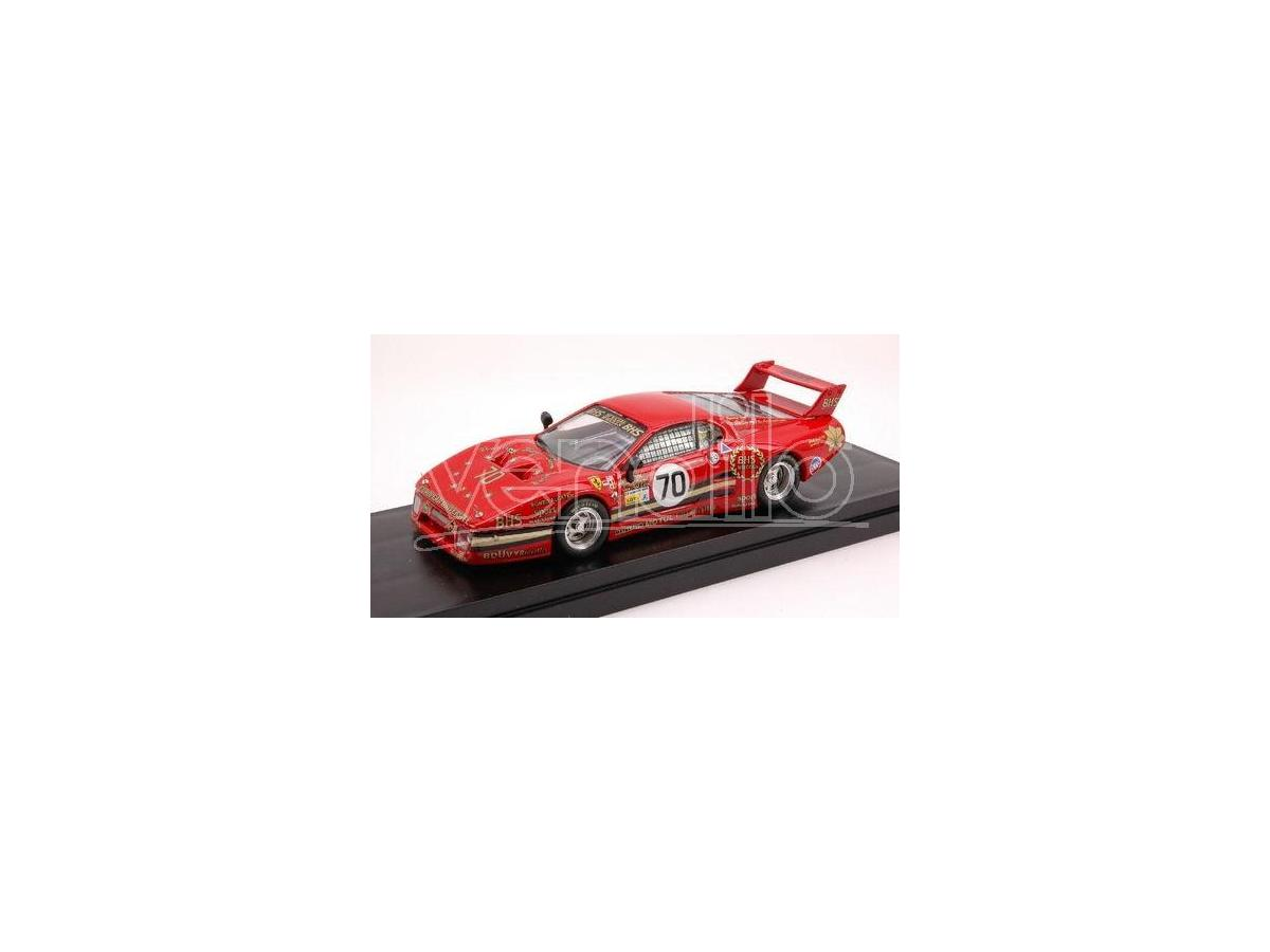 Best Model BT9388 FERRARI 512 BB LM N.70 6th LE MANS 1982 DIEUDONNE'-BAIRD-LIBERT 1:43 Modellino
