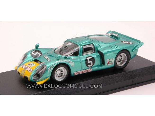 Best Model BT9408 ALFA ROMEO 33.2 N.5 LUANDA 1972 A.PEIXINHO 1:43 Modellino