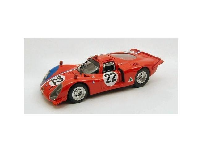 Best Model 9419 ALFA ROMEO 33.2 PARIGI 1968 1/43 Modellino