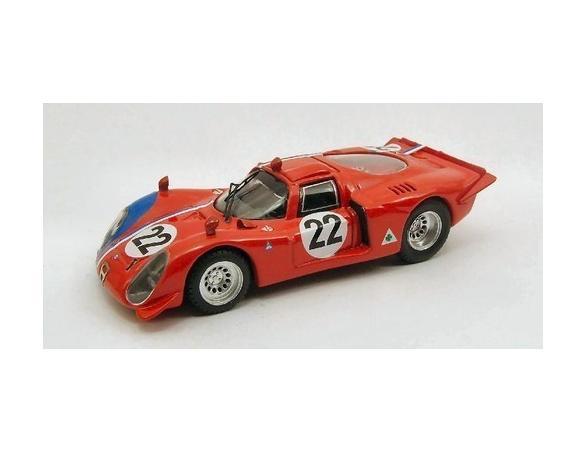 Best Model 9419 ALFA ROMEO 33.2 PARIGI 1968 1/43 Modellino