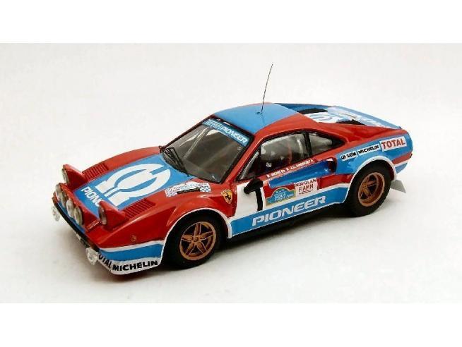Best Model BT9421 FERRARI 308 GR.4 N.1 2nd TARGA FLORIO 1982 ANDRUET-BICHE 1:43 Modellino
