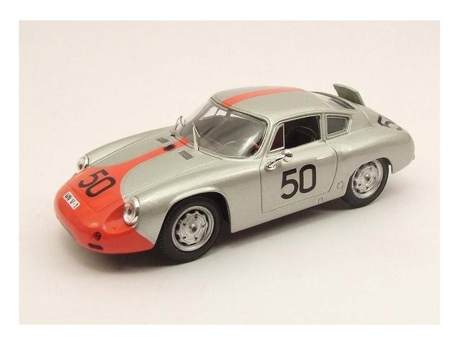 Best Model BT9425 PORSCHE ABARTH N.50 RETIRED TARGA FLORIO 1962 STRAHLE-HAHNL 1:43 Modellino