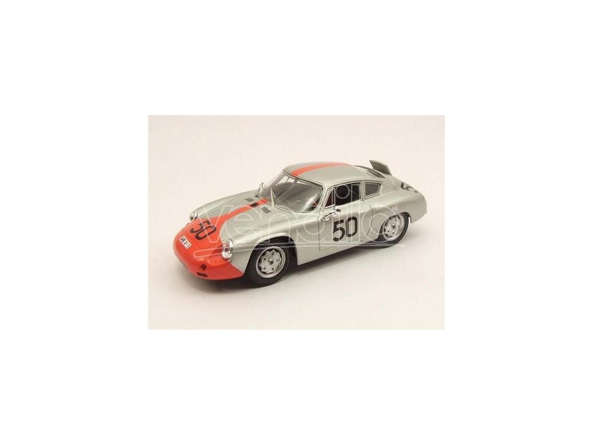Best Model BT9425 PORSCHE ABARTH N.50 RETIRED TARGA FLORIO 1962 STRAHLE-HAHNL 1:43 Modellino