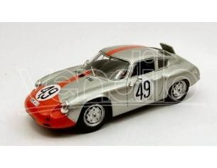 Best Model BT9434 PORSCHE ABARTH N.49 9th 12 H SEBRING 1962 STRAHLE-BARTH 1:43 Modellino