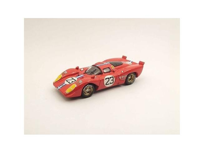 Best Model 9449 FERRARI 312P COUPE SEBRING 1970 1/43 Modellino