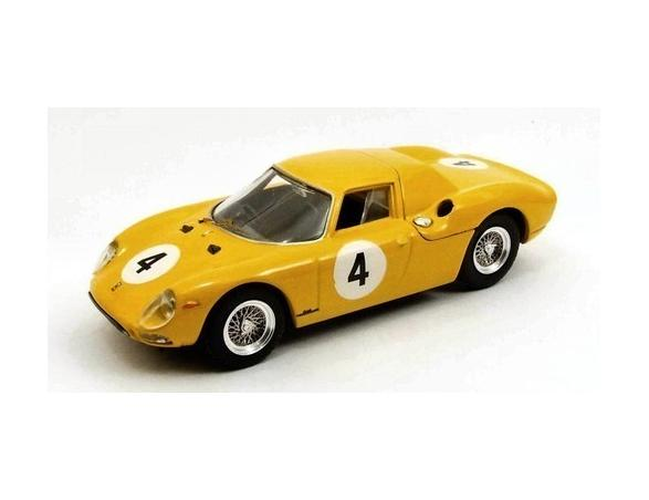 Best Model BT9452 FERRARI 250 LM N.4 8th 500 KM SPA 1965 J.C.FRANCK 1:43 Modellino
