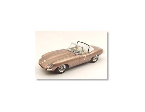 Best Model 9459 JAGUAR E SPIDER DEL MAR USA '61 1/43 Modellino