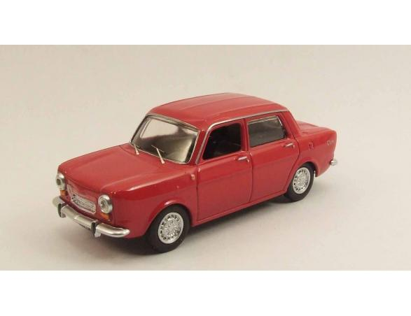 Best Model 9476 SIMCA ABARTH 1150 1963 ROSSO/RED Modellino