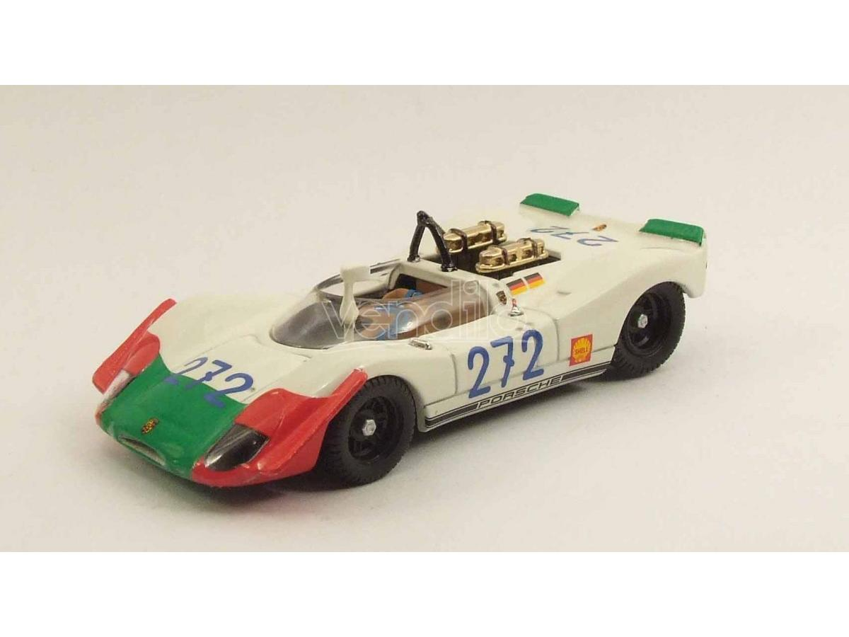 Best Model BT9482 PORSCHE 908/2 N.272 4th TARGA FLORIO 1969 KAUHSEN-VON WENDT 1:43 Modellino