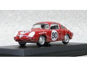 Best Model BT9487 FIAT ABARTH 750 ZAGATO N.80 WINNER SEBRING 1961GLERTZ-LIESS 1:43 Modellino