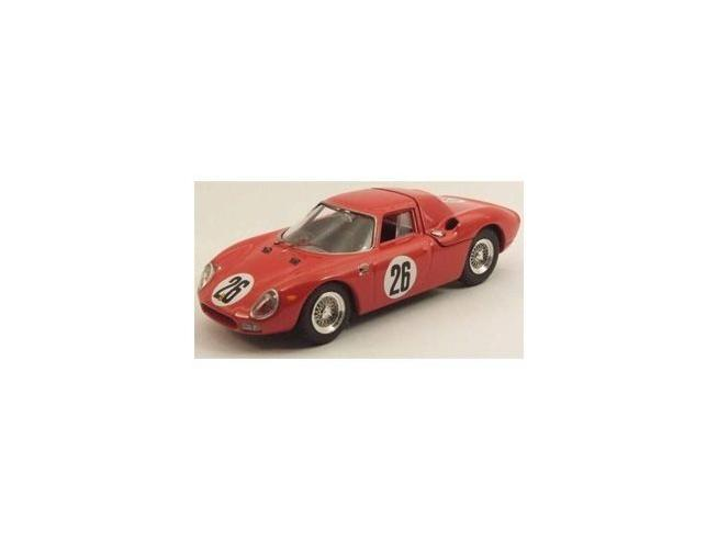 Best Model BT9489 FERRARI 250 LM N.26 WINNER 1000 KM PARIGI 1966 PARKES-PIPER 1:43 Modellino