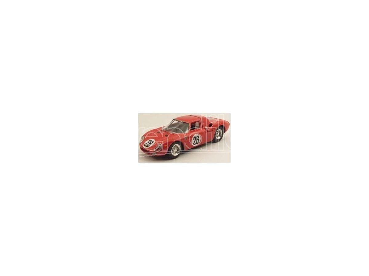 Best Model BT9489 FERRARI 250 LM N.26 WINNER 1000 KM PARIGI 1966 PARKES-PIPER 1:43 Modellino
