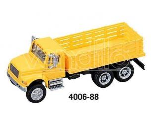 Boley 4006-88 CAMION 4900 CASSONATO 3 ASSI YELLOW Modellino