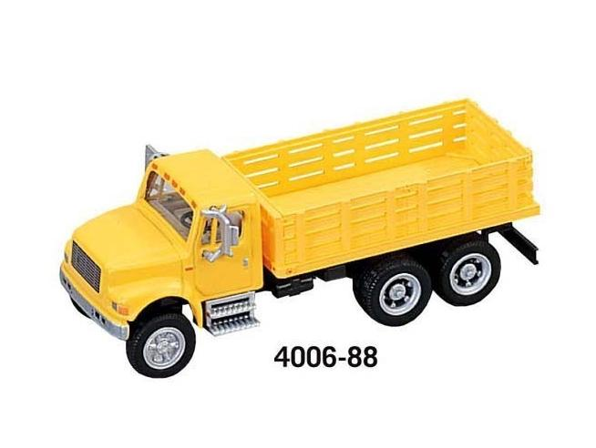 Boley 4006-88 CAMION 4900 CASSONATO 3 ASSI YELLOW Modellino