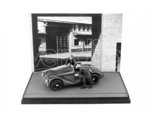 Brumm BMAS50BW FERRARI 125 1947 + 2 MECCANICI 1:43 Modellino