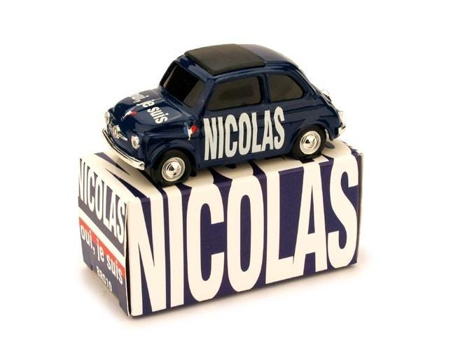 Brumm BMBR010 FIAT 500 NICOLAS OUI JE SUIS 1:43 Modellino