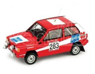 Brumm BMK003 FIAT PANDA N.283 RALLY DEI VINI 1981 N.283 TRANSKIT ARENA MODELLI 1:43 Modellino