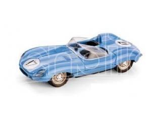 Brumm R153 JAGUAR D-TYPE LE MANS BLUE 1/43 Modellino